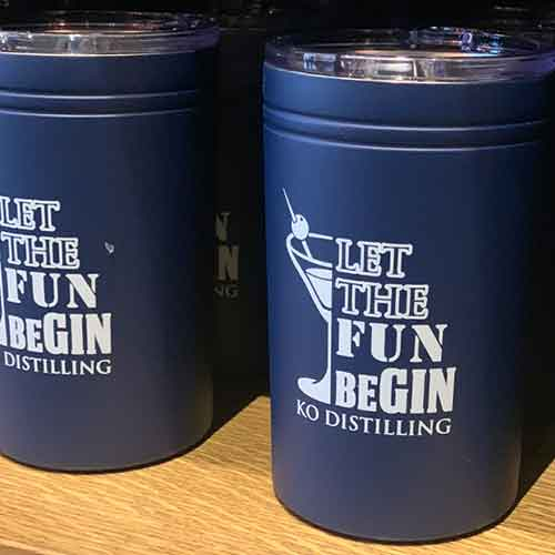 Let the Fun Be-Gin Tumbler